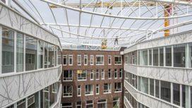 VvdW – Pand ID College in Leiden bijna klaar