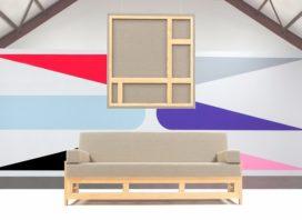 Design van de Week: A couch to match the painting van Henk Stallinga en Jan van der Ploeg