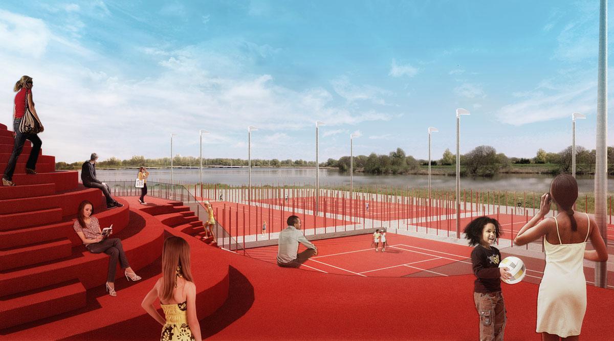 IJburg Tennisclub MVRDV