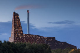 Incineration Line Roskilde Denemarken wint Architizer A + Awards