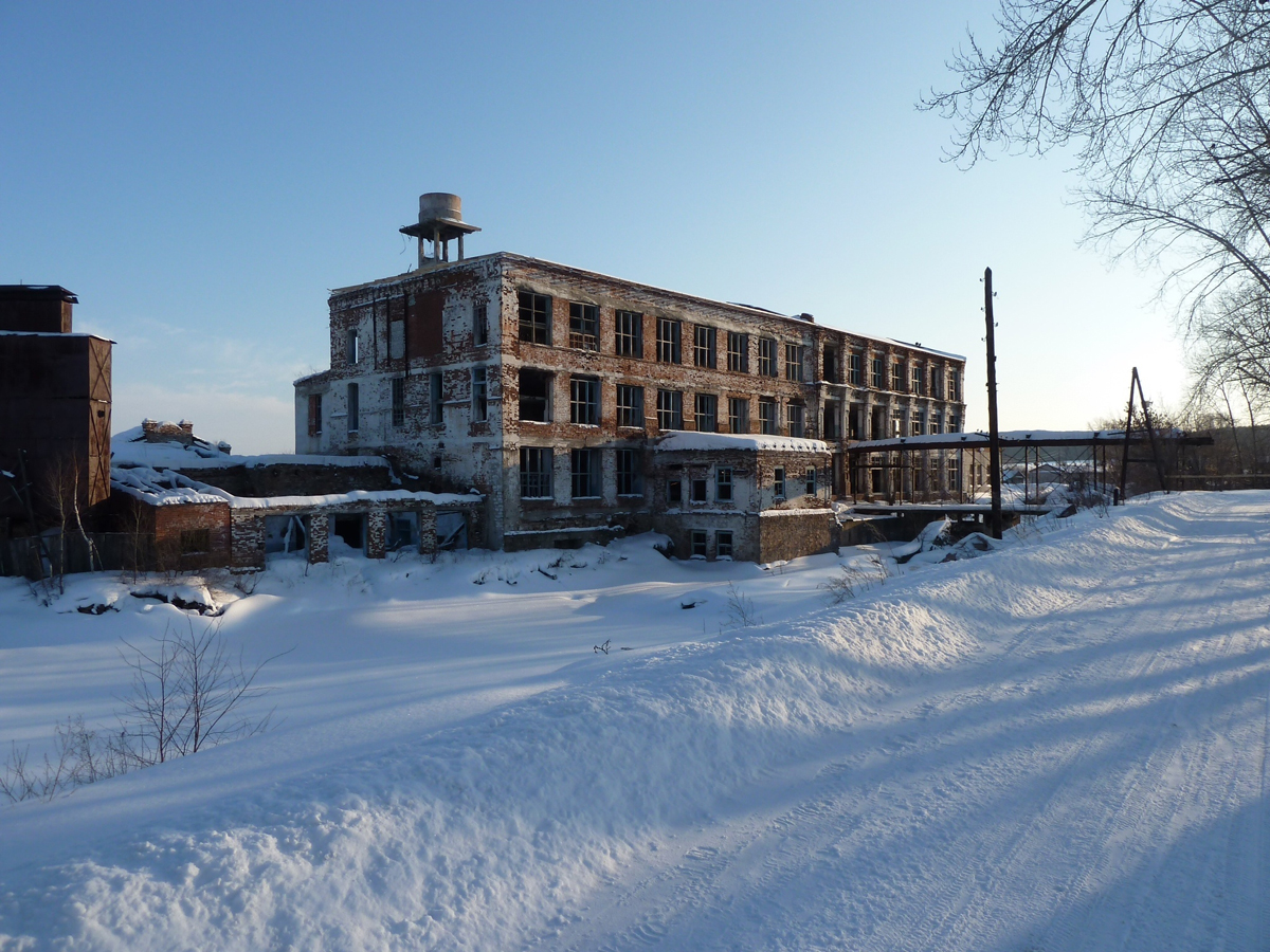Oude fabriek Rusland