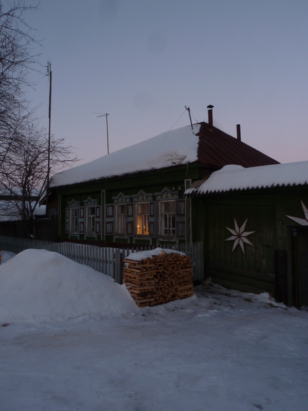Plattelandswoning Rusland