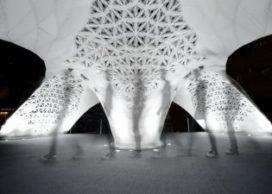 Grootste 3D geprinte gebouw ter wereld op Beijing Design Week