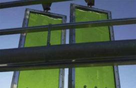 Algenreactor als gevelelement