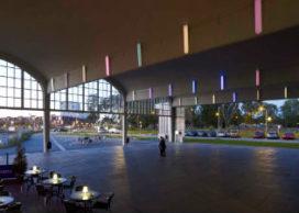 Lichtinstallatie door Peter Struycken laadt publieke ruimte