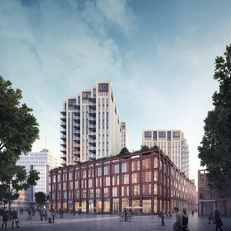 Neutelings Riedijk Architecten de Lorentz Leiden