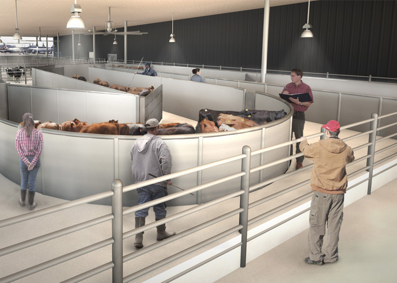 De Ark Animalterminal JFK door Gensler - Render Ster van de Week-7