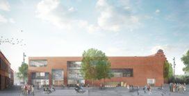 Kaan architecten ontwerp multifunctionele bibliotheek in Aalst (B)