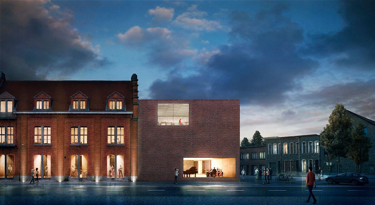 Kaan Architecten - Bibliotheek Aalst