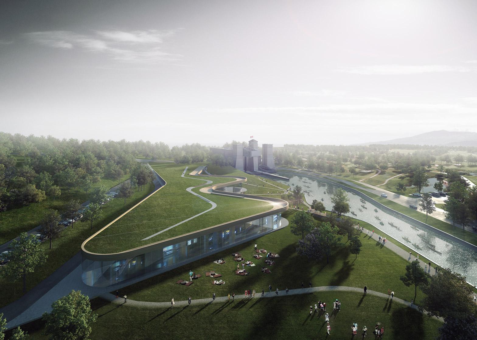 Render Ster van de Week - Kano Museum Canada door Heneghan Peng Architects