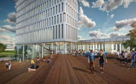 Concrete ontwerpt Kauwgomballenfabriek-hotel
