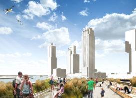 Drijvend park voor Rotterdamse haven