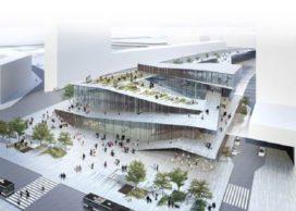 Kengo Kuma & Associates ontwerpen nieuw Parijs megastation