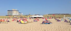 Strandhuisjes bij Kijkduin