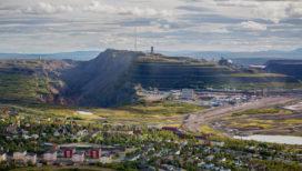 IJzermijn in Zweden verdringt stad