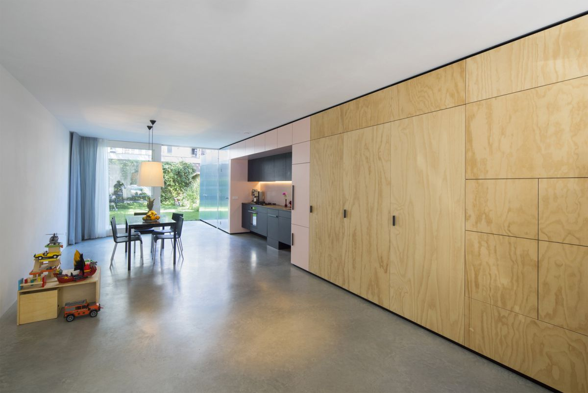 Open huis in amsterdam door shift architecture urbanism de architect - Lay outs oud huis ...