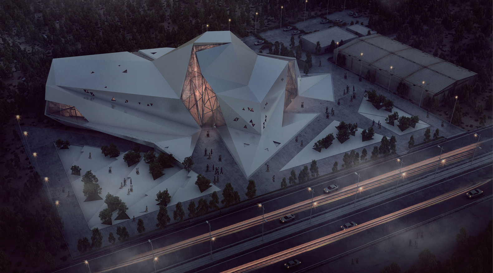 Polour Rock Gym van New Wave Architecture - Render Ster van de Week