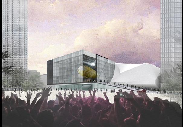Rem Koolhaas wint in Manchester met ontwerp Kunstfabriek