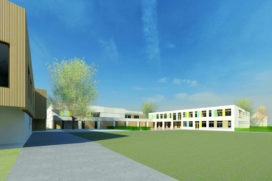 KOW ontwerpt kindcentrum in Vught Zuid