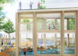 Kraaijvanger ontwerpt school / wijkcentrum in Moskou