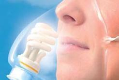 Luchtzuiverende ledlamp