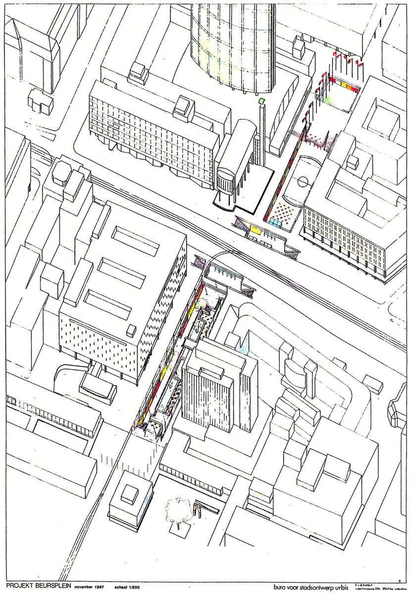 Lijnbaankwartier Rotterdam - Opinie Matthijs de Boer - V&D en de stadscentra