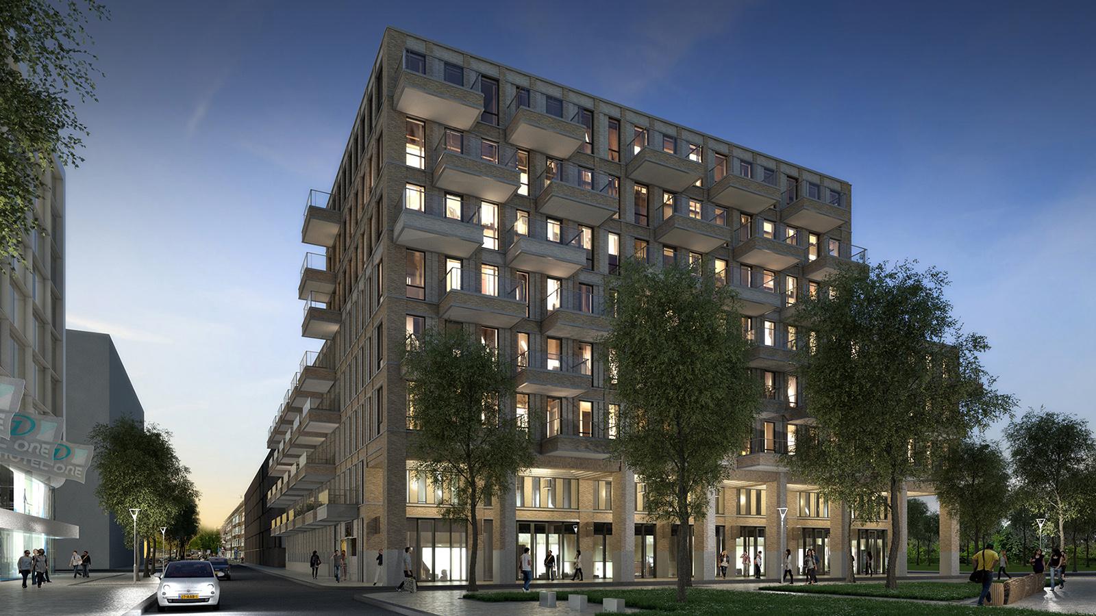 LEVS Square Amsterdam woongebouw