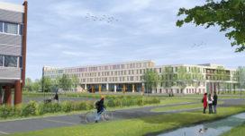 Bouwstart Prinses Máxima Centrum voor Kinderoncologie door LIAG