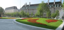 Jubilee Gardens Londen op tijd klaar