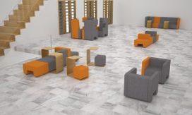 Loungescape van Ahrend door Basten Leijh