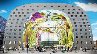 Markthal - Opinie Pit & Bazuin - Comfort in Rotterdam