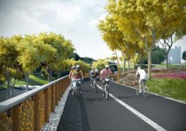 Mecanoo ontwerpt fietsroute in China