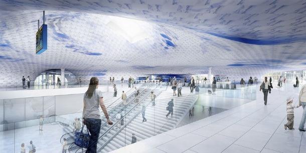 Francine Houben ontwerpt nieuw station Kaohsiung