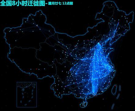 Migratie Chinees nieuwjaar