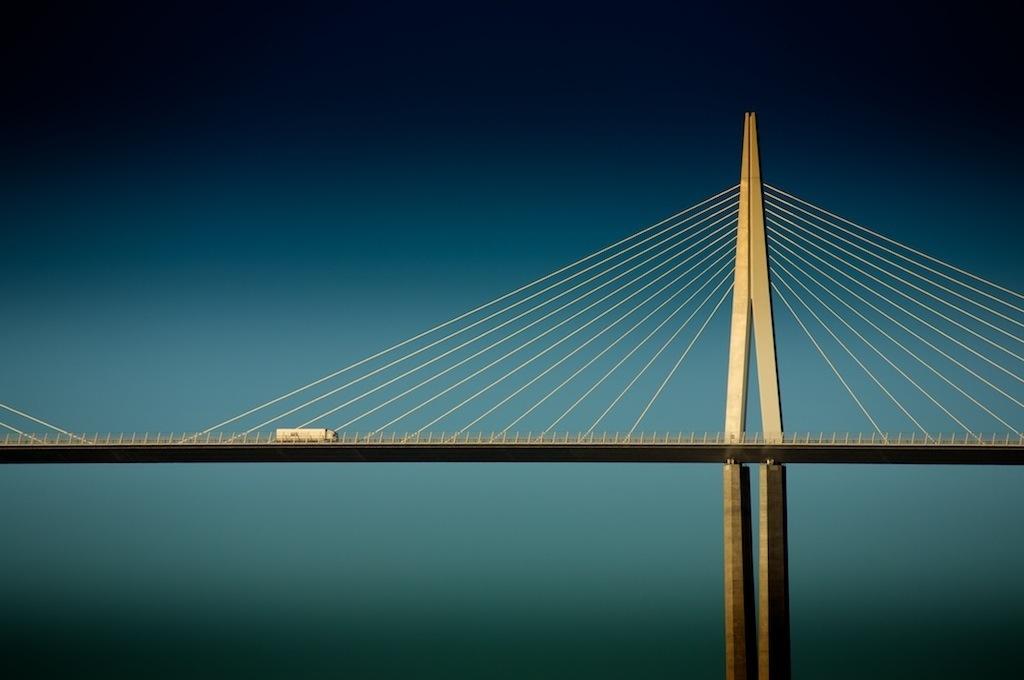 Viaduct Millau, Frankrijk, Ron Buiting