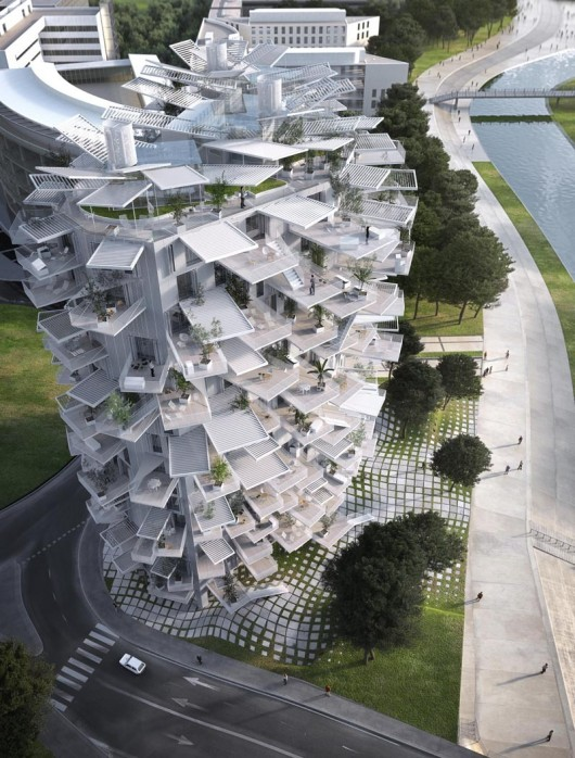 Montpellier The White Tree door Sou Fujimoto team