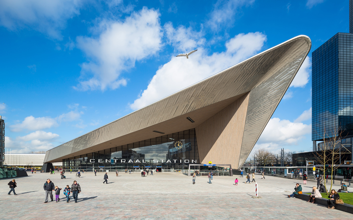Rotterdam Centraal Opinie Wilma Mansveld Stations