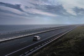 Roosegaarde presenteert Icoon Afsluitdijk