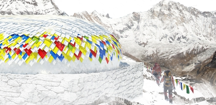 Tweede prijs Mountain Hut competition