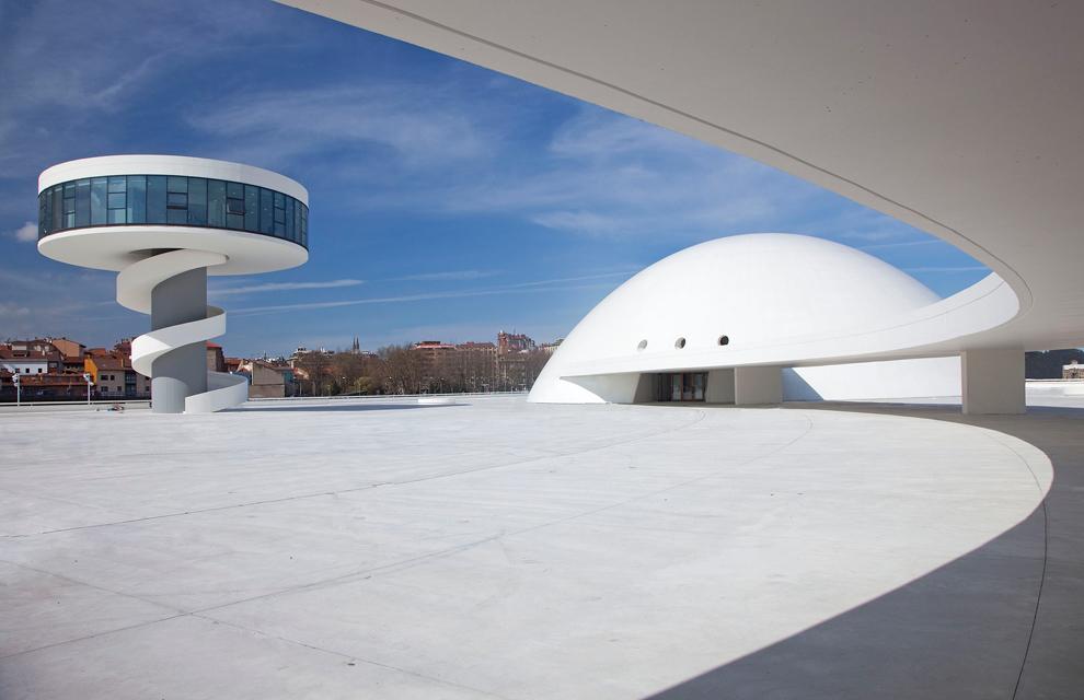 Cultureel Centrum Asturias, Spanje door Oscar Niemeyer