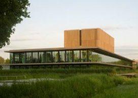 Houtarchitectuurprijs naar NIOO-KNAW (Claus en Kaan)