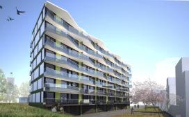 Slimme balkons aan integraal ontworpen woongebouw