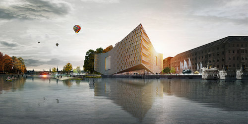 Nobel Center _ BIG _ Render Ster van de Week