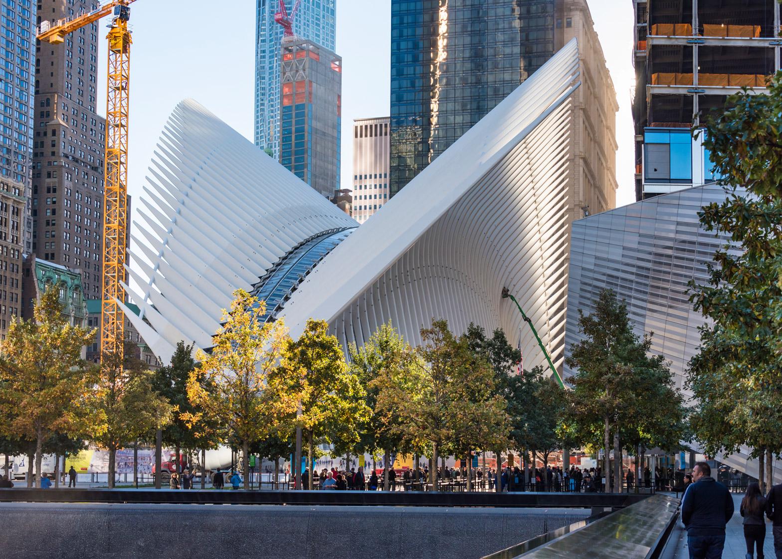 Calatra New York WTC Station