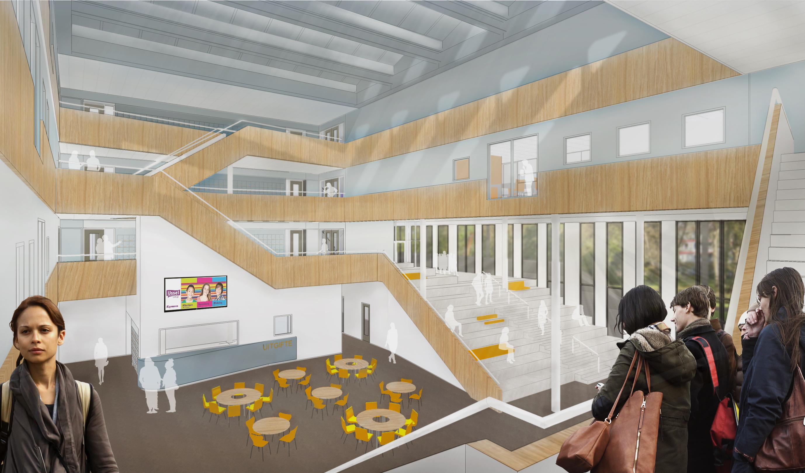 Atrium College RoosRosArchitecten