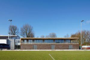 Sportpaviljoen Olympia in Haarlem door architectuurcentrale Thijs Asselbergs