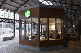 Station Haarlem verrijkt met twee paviljoens