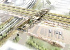 Plan voor station Ede-Wageningen door NEXT