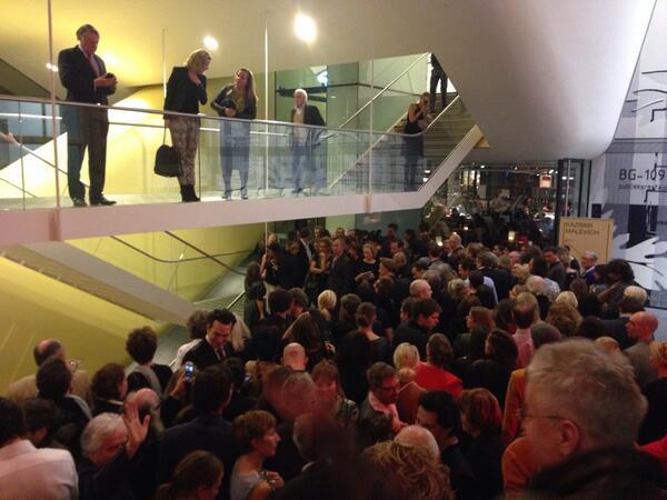 Opening Wanders in Stedelijk