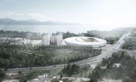 GMP bouwen nieuw sportcomplex in Lausanne